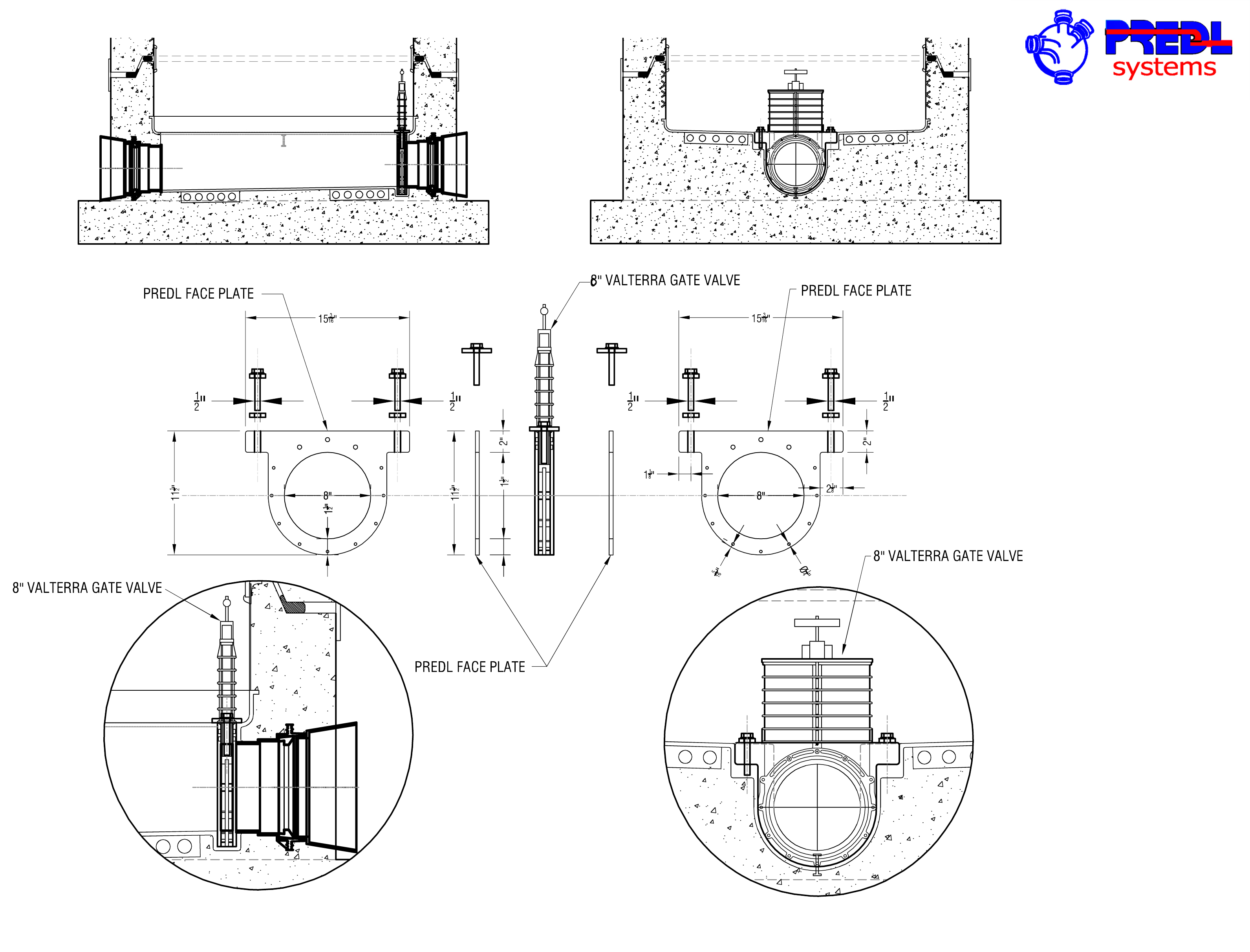 Backwater protection flow gates in sanitary sewer systems predl pdf 8 inch slide gate detail pooptronica Images