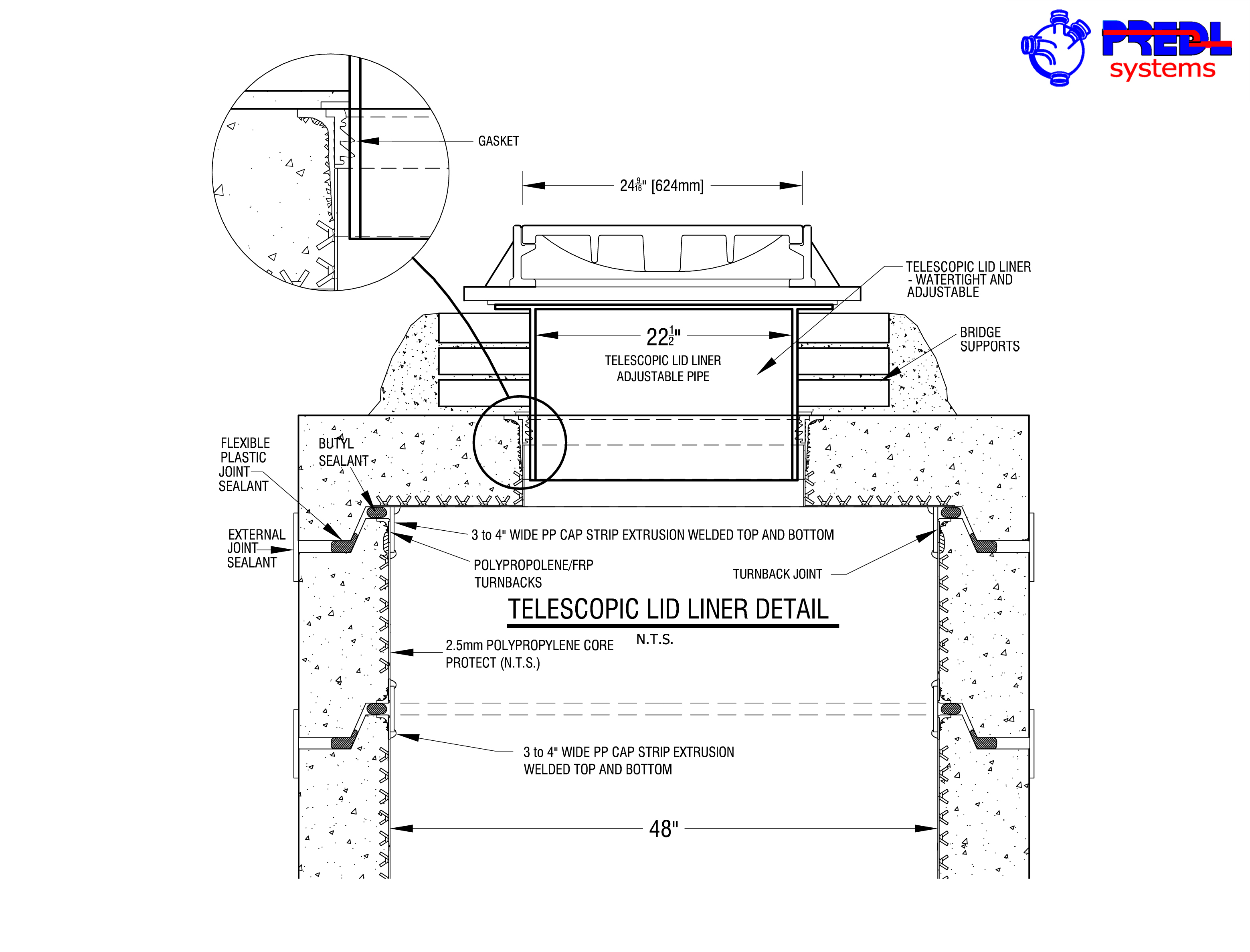 Manhole Wall Liners Predl Systems